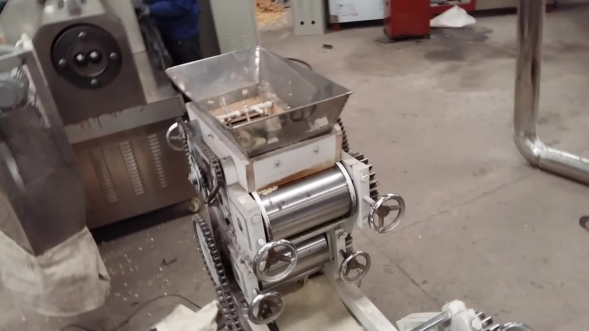 Kleine instant noedels productielijn productie plant maken machine