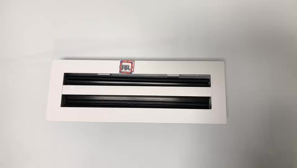 Air Conditioning Slot Diffuser Aluminum Linear Slot Diffuser for HVAC System