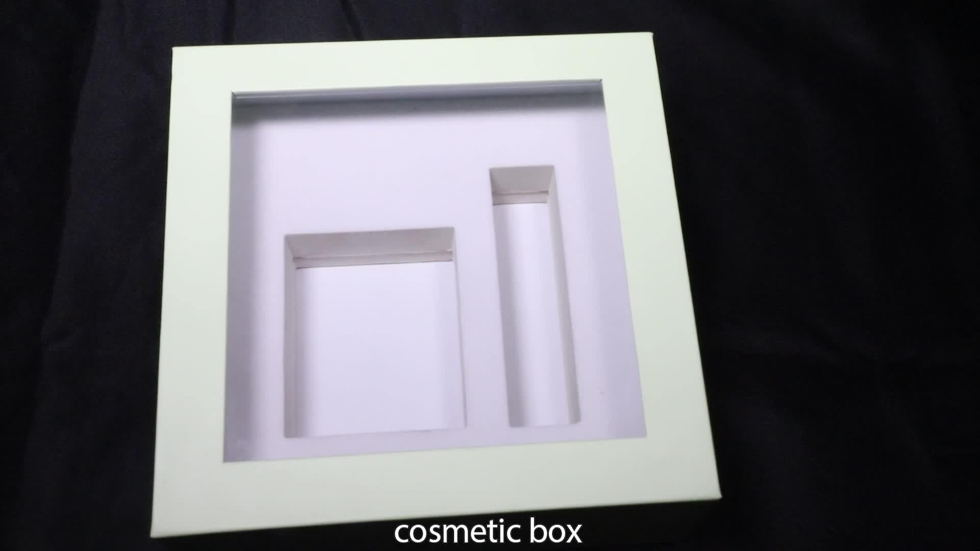 Эко Заказная печатная крафт-бумажная коробка с окном