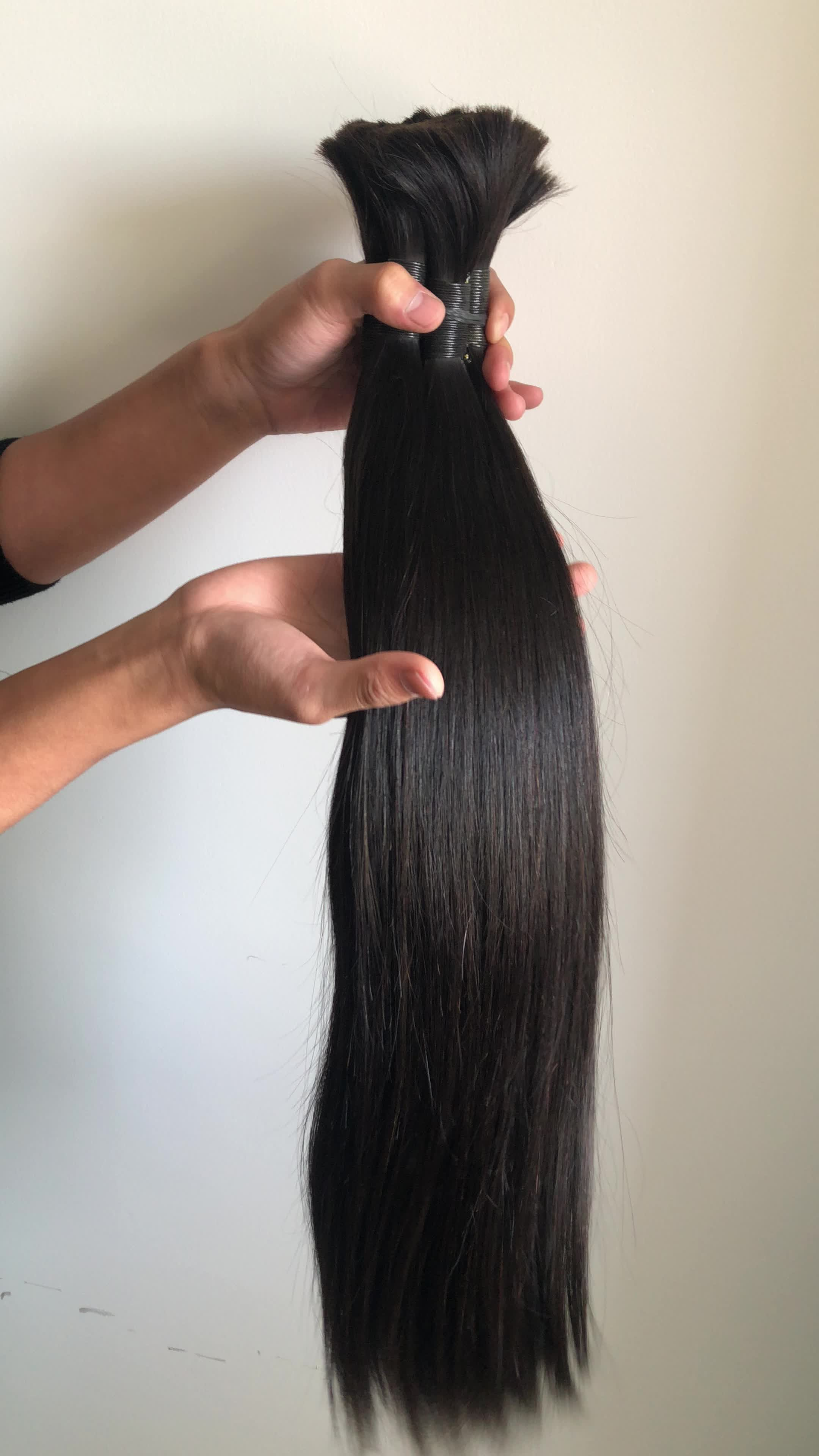 Bulk price unprocessed virgin malaysian human hair hot selling in south africa