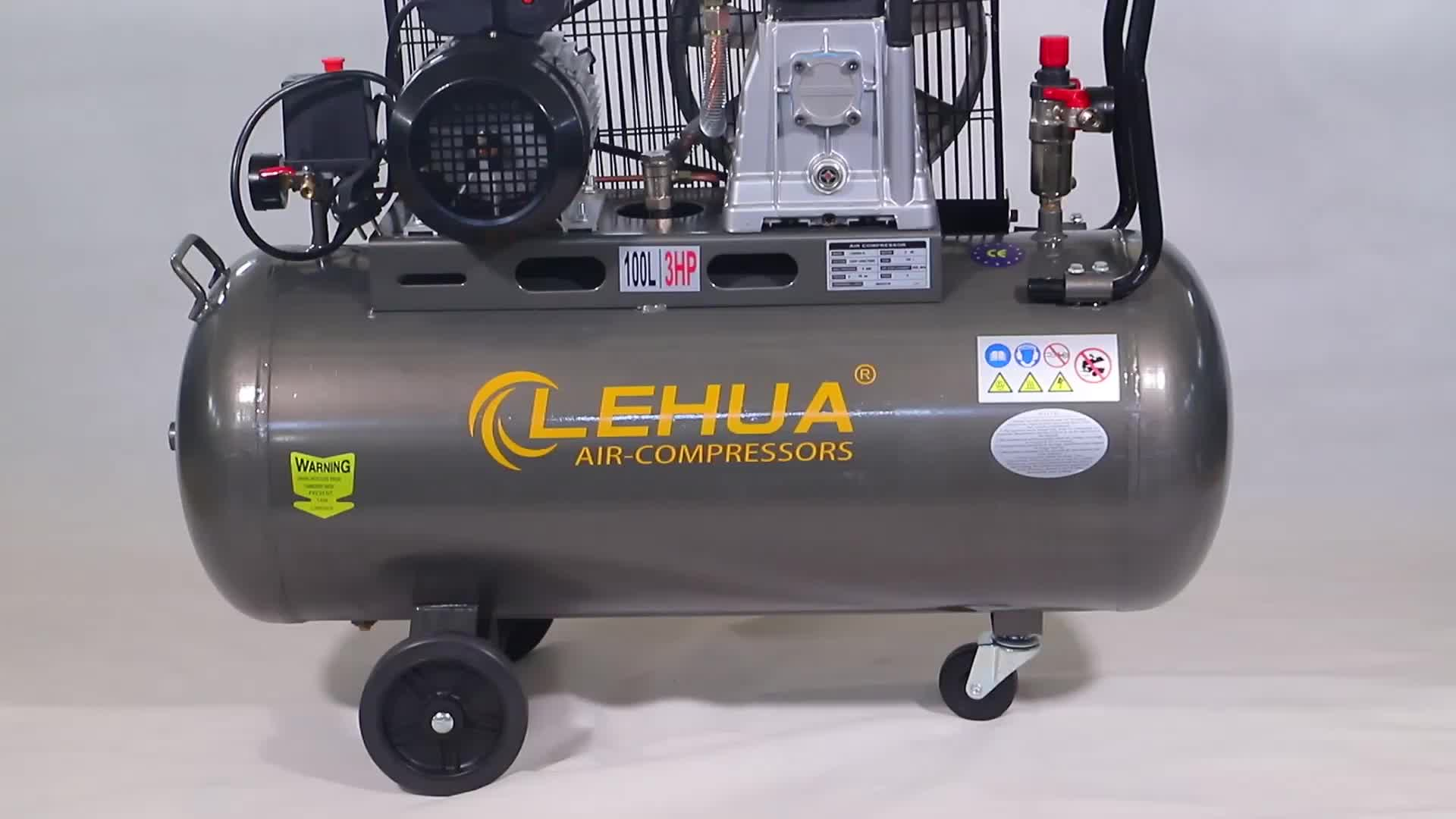2020 hot 3hp 2.2kw 100l air compressor for sale