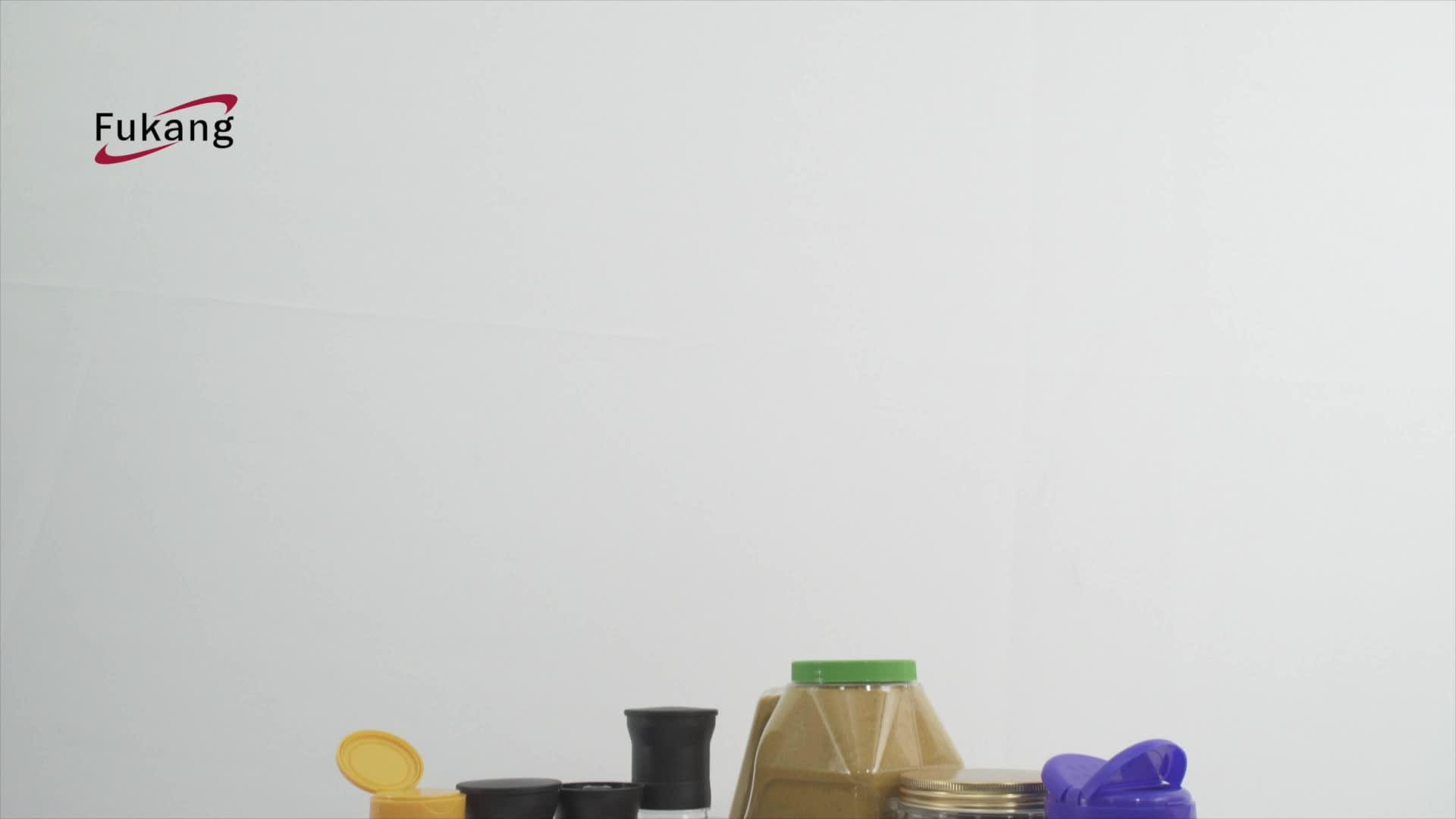 בית שימוש פלסטיק מלח פלפל מטחנת סט