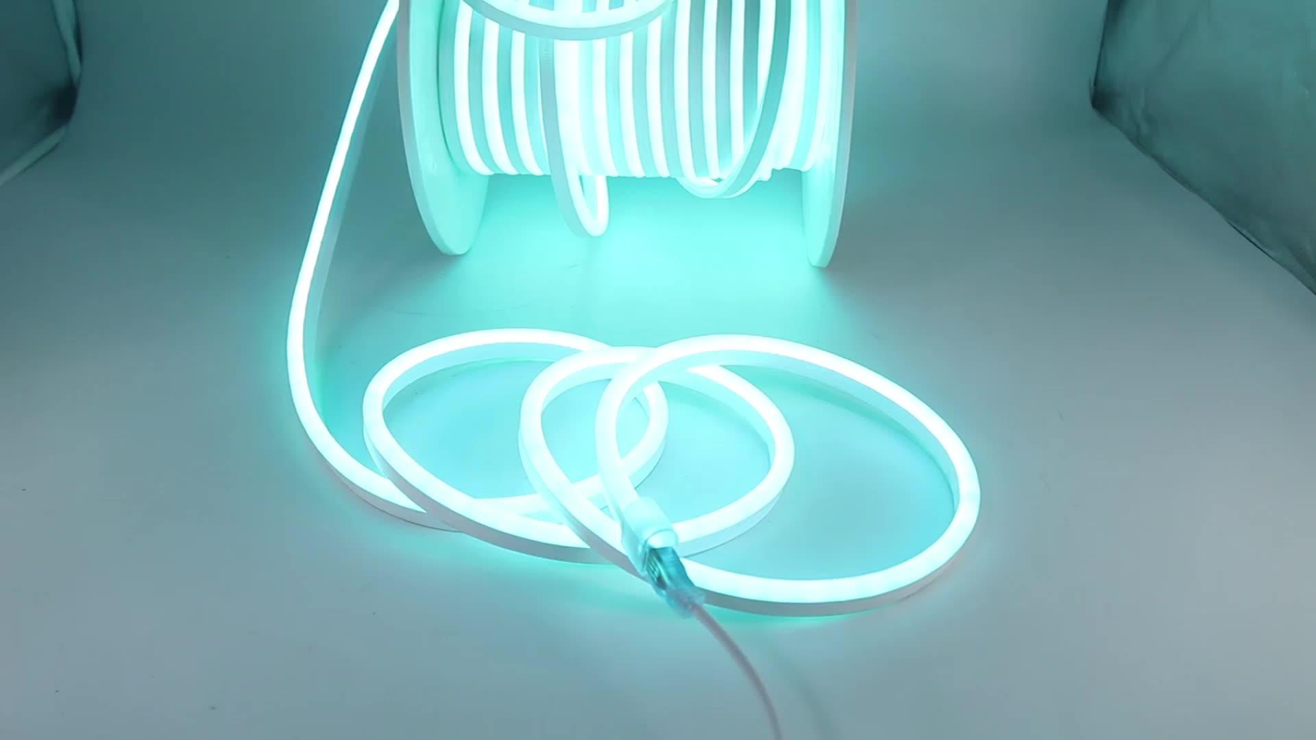 SMD 2835 anyview 360 derece yuvarlak Led esnek Neon şerit