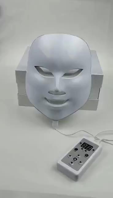 Ovia Cura Della Pelle Del Viso Maschera di 7 Colori HA CONDOTTO LA Luce Photon Terapia Della Pelle del Viso Rassodante Rigenerante Maschera Per il Viso