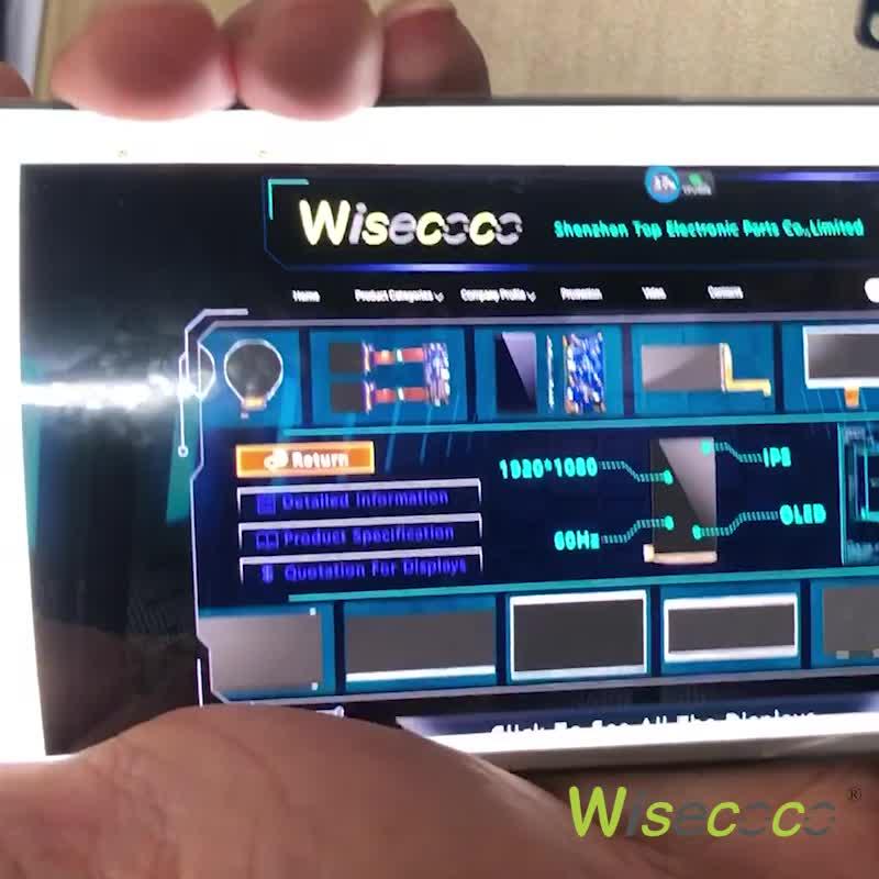 شاشة أوليد مرنة 6 بوصة 2K 1080x2160 HDMI إلى mipi شاشة مرنة لوحة أموليد