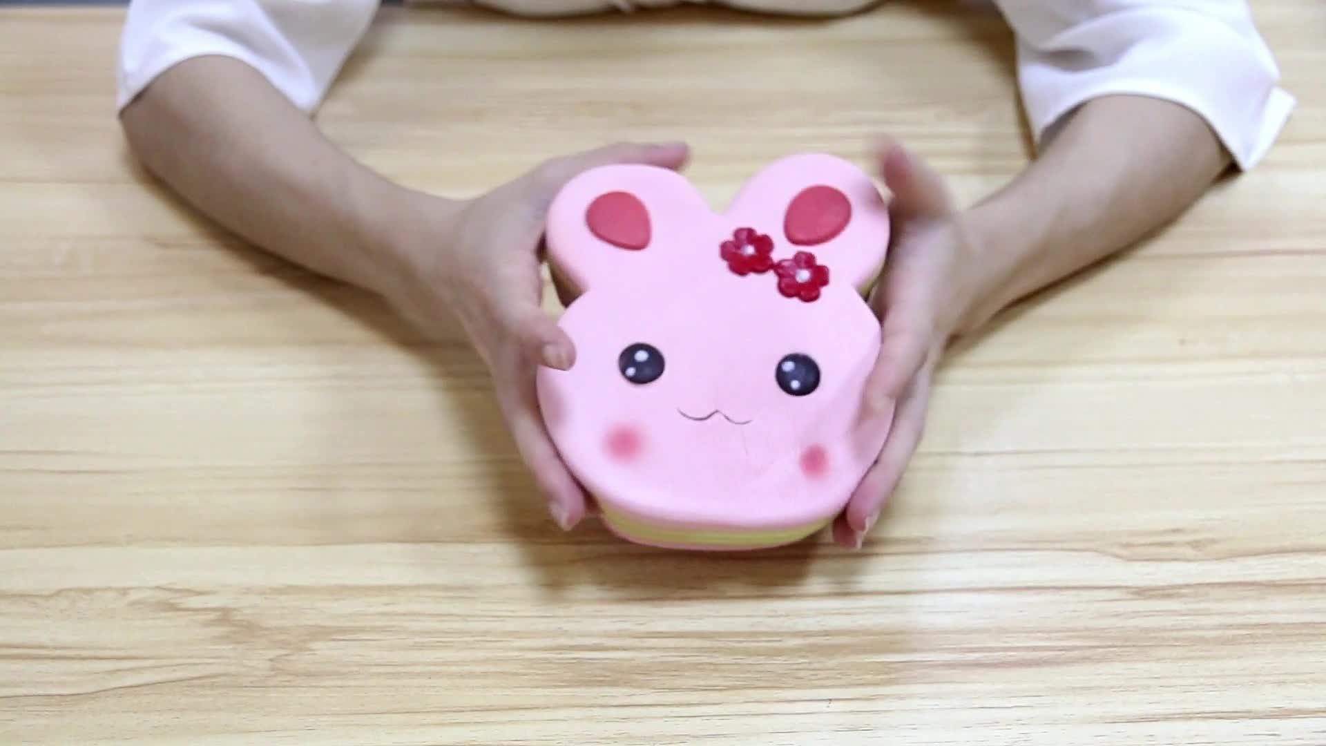 Shenzhen Squezze Dekompression Spielzeug PU Langsam Rising Cartoon Kawaii Kaninchen Squishy Kinder Spielzeug