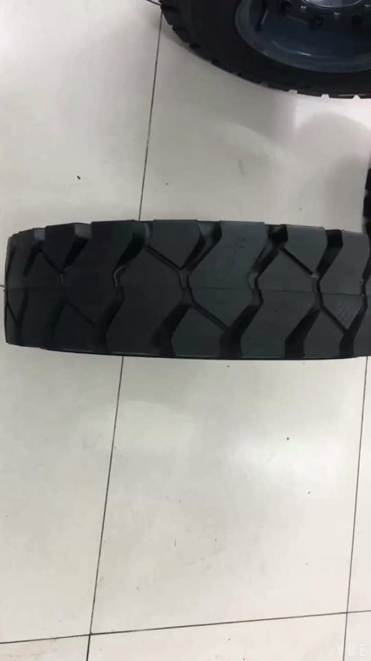 High performance piatto prova solido carrello elevatore pneumatico pneumatico