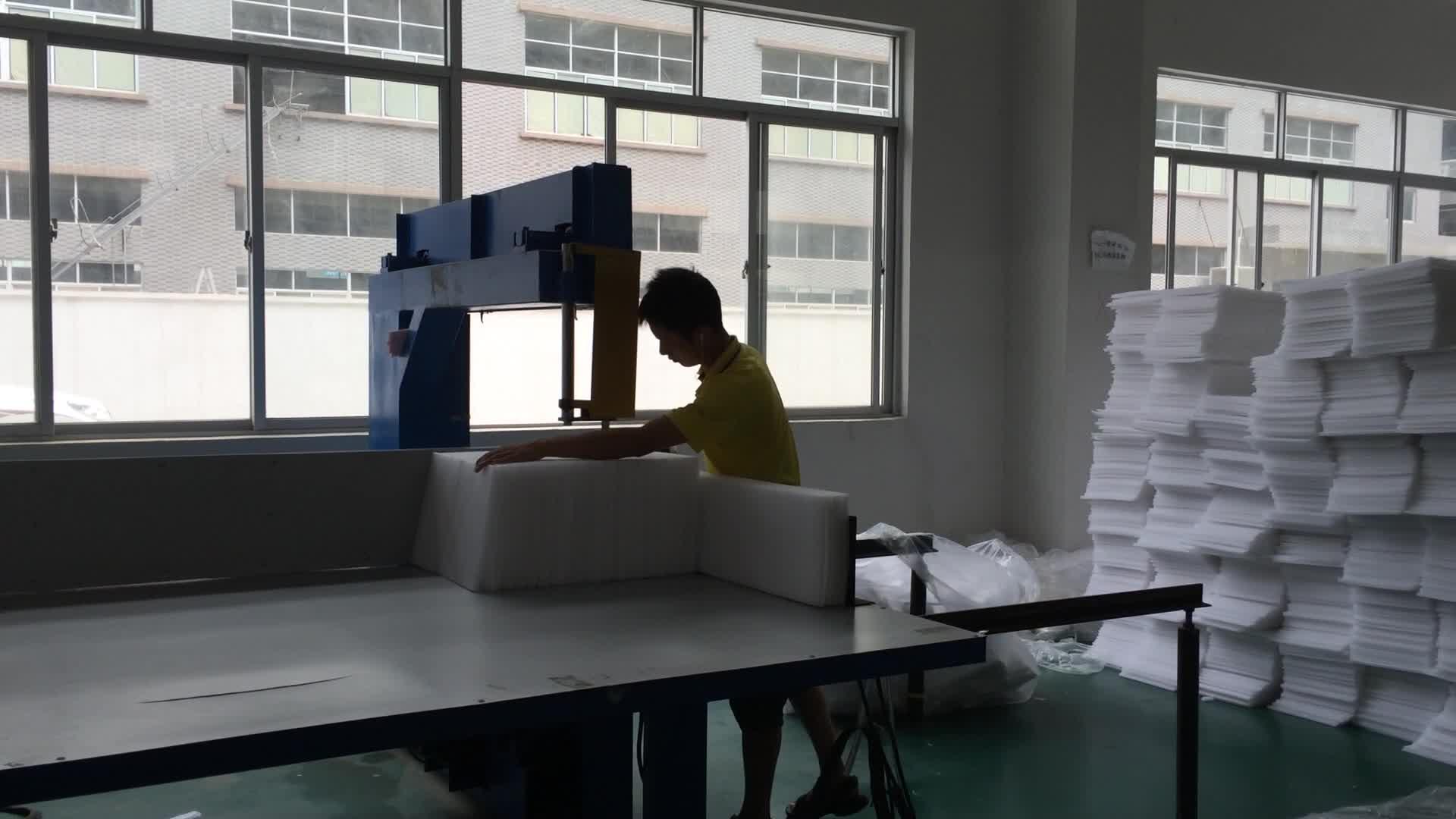 FLY-02 New Types Vertical Sponge/EPE Foam Sheet Foam Cutting Machine