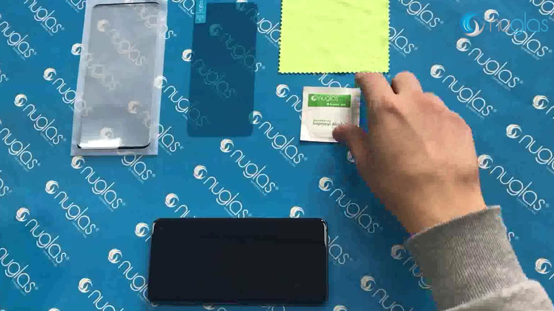 Nuglas 携帯電話フィルム強化ガラススクリーンプロテクターシートソニーの Xperia XA2