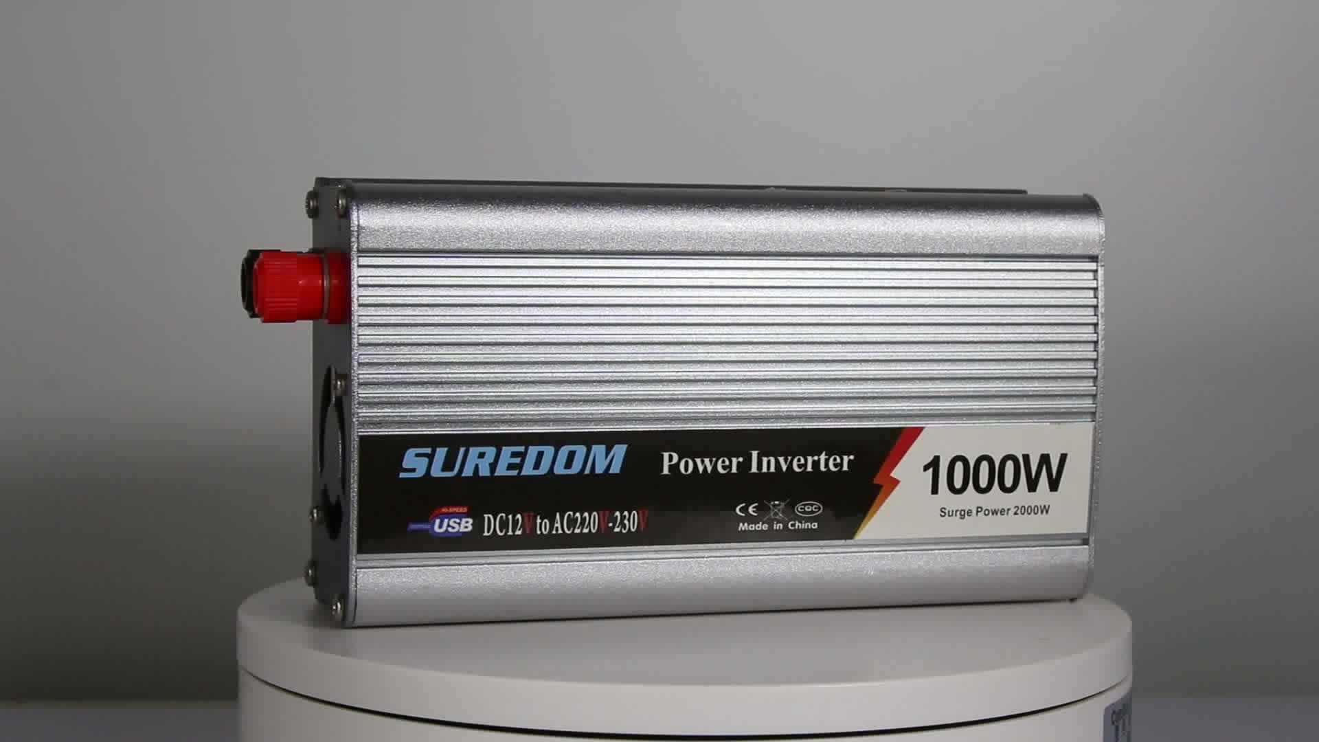 Power Inverter 1000 Watt DC Ke AC 12 V-220 V/12 V-110 V/24 v-220 V/24 V-110 V/Off Grid Sistem Harga Murah Barang Garansi 2 Tahun hotsale