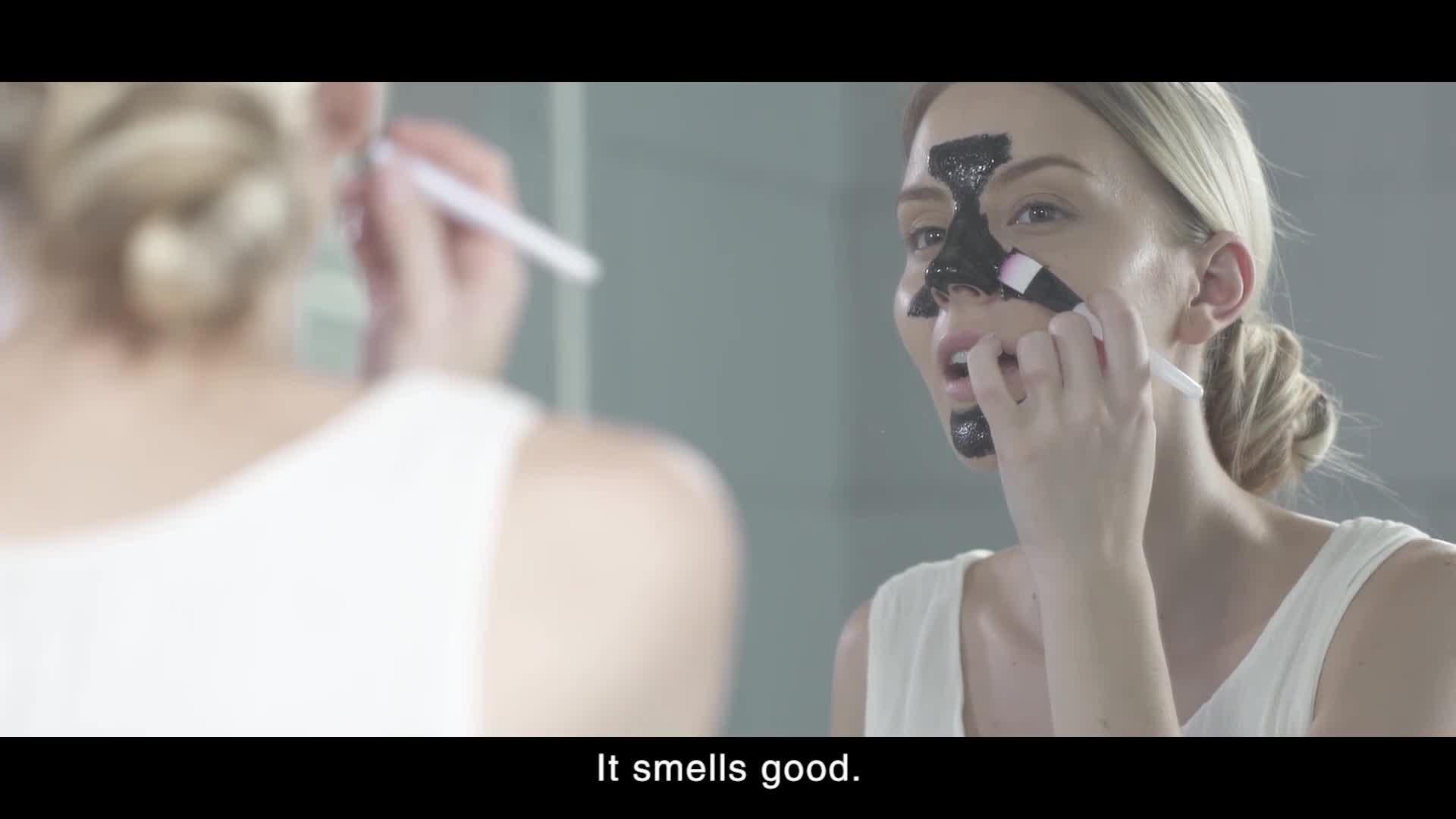 カスタマイズされたロゴ竹炭明るく吸引皮にきび炭マスク
