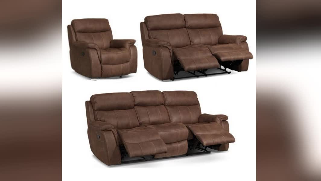 Modern style reclining sofa furniture set