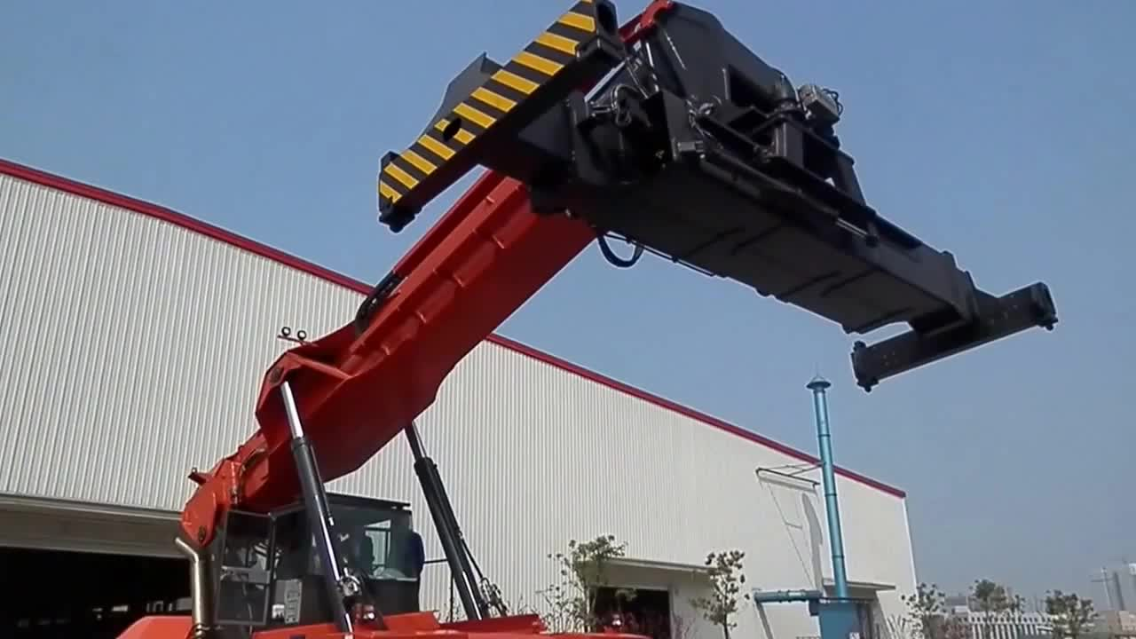 Port container handler Heli RSH4532 Reach Stacker 45 ton for sale