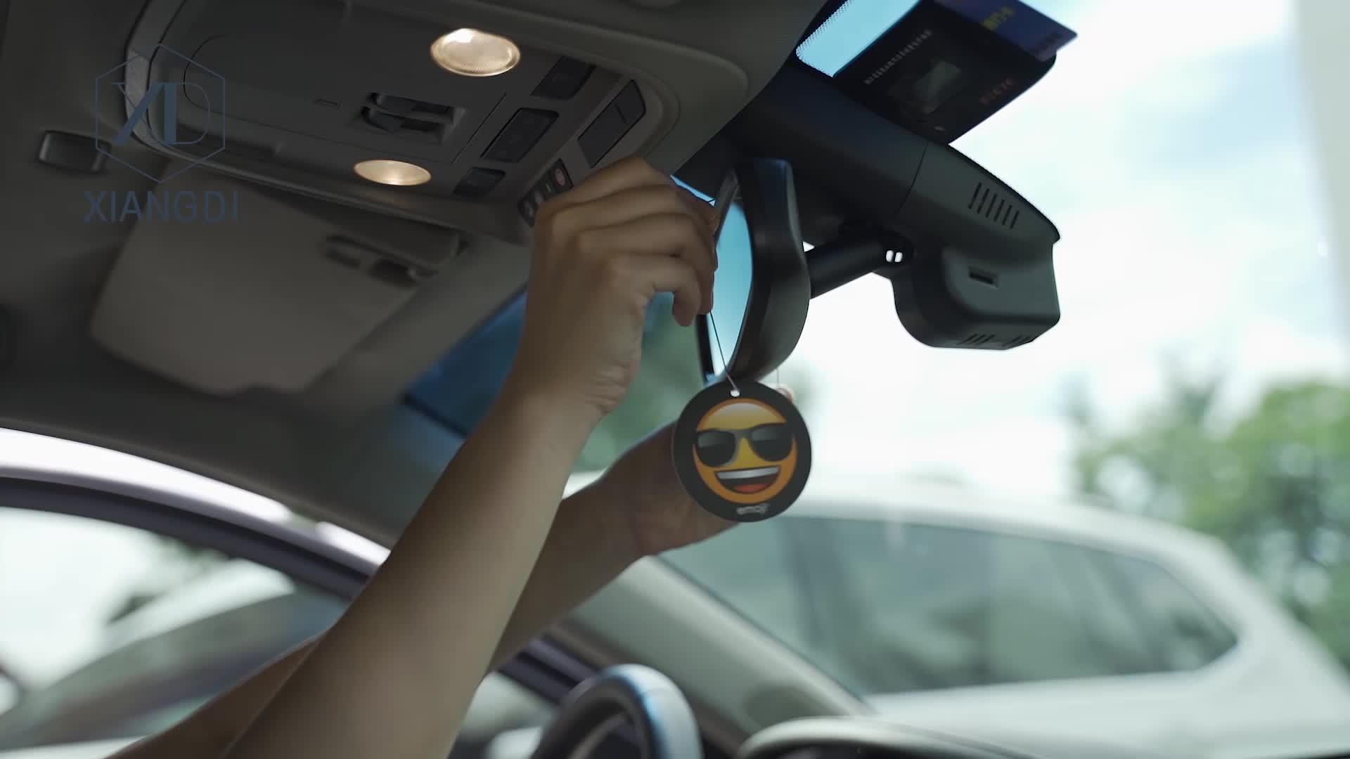 Free samples provided Car Vent Membrane Perfume Car Air Freshener refill