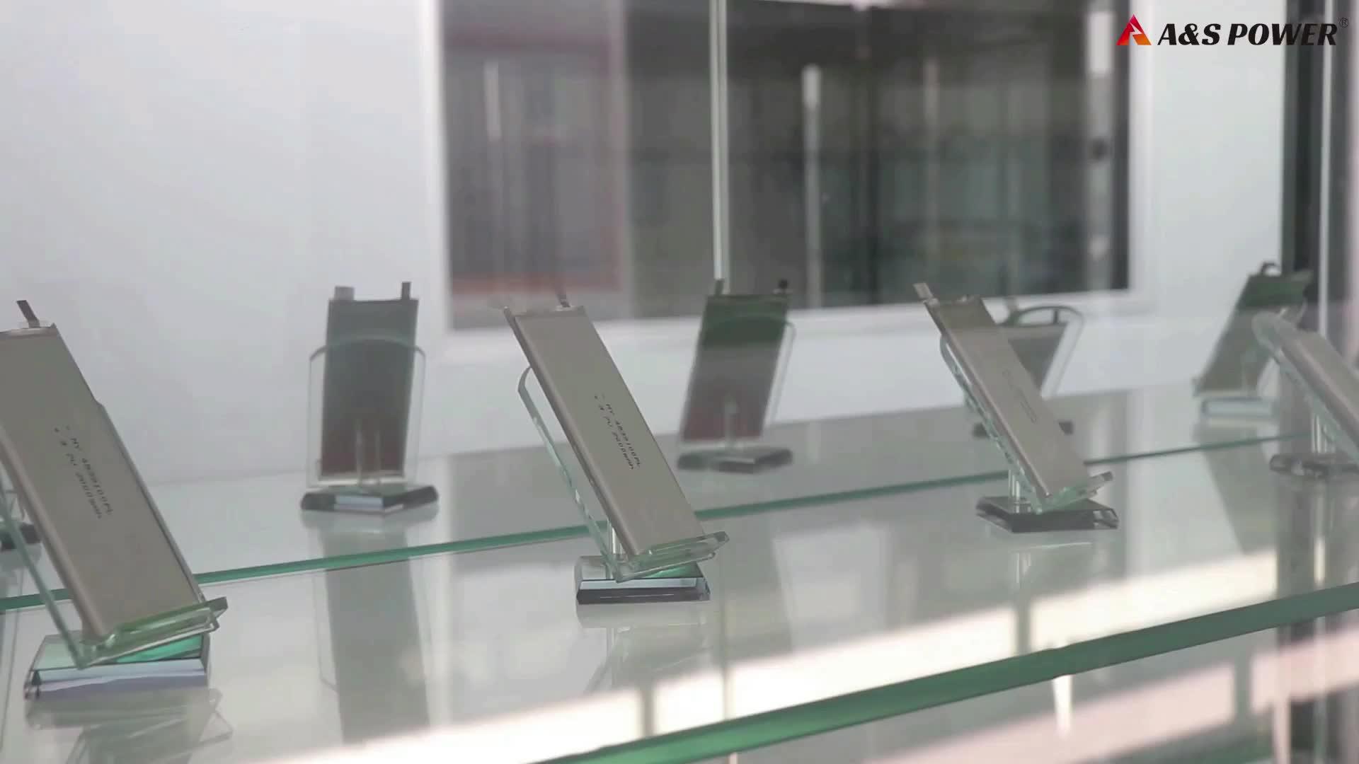 UL2054 553640 ricaricabile ai polimeri di litio Lipo 3.7V 850mAh batteria ai polimeri di li-ion per il tracciamento GPS