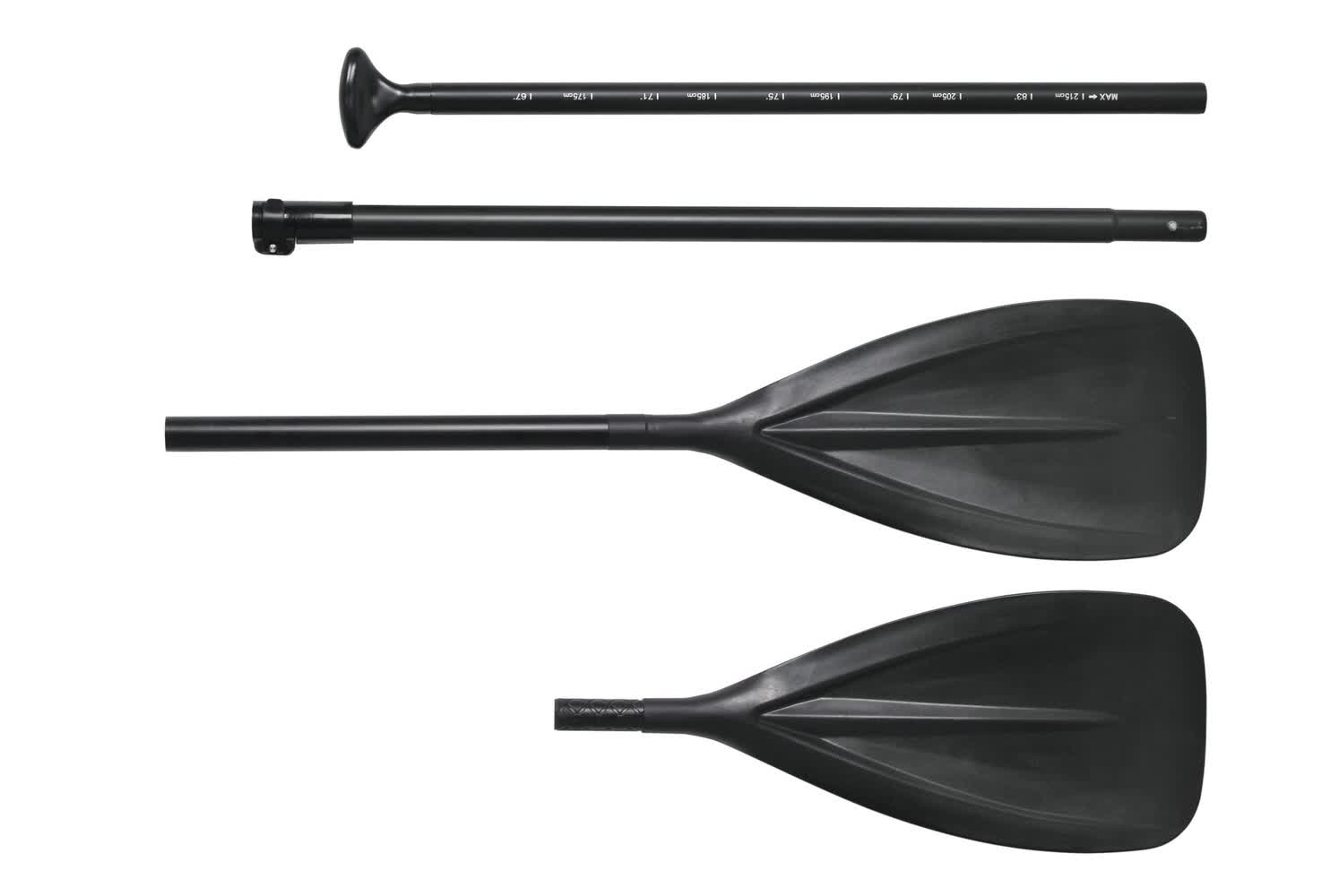 Best Choice SUP Package Paddle 4-Piece Detachable Multi Use 2 IN 1 Kayak Paddle