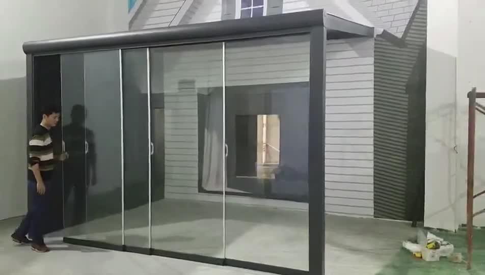 Moderno Giardino Esterno In Alluminio Patio Copertura del Tetto/Terrazza Baldacchino