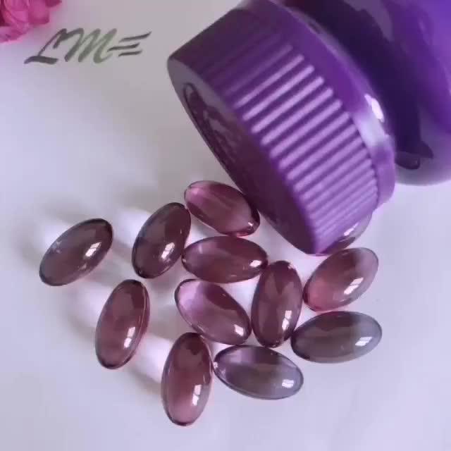Частная этикетка зеленый чай капсулы в антиоксидантных косметических продуктах дополнение OEM