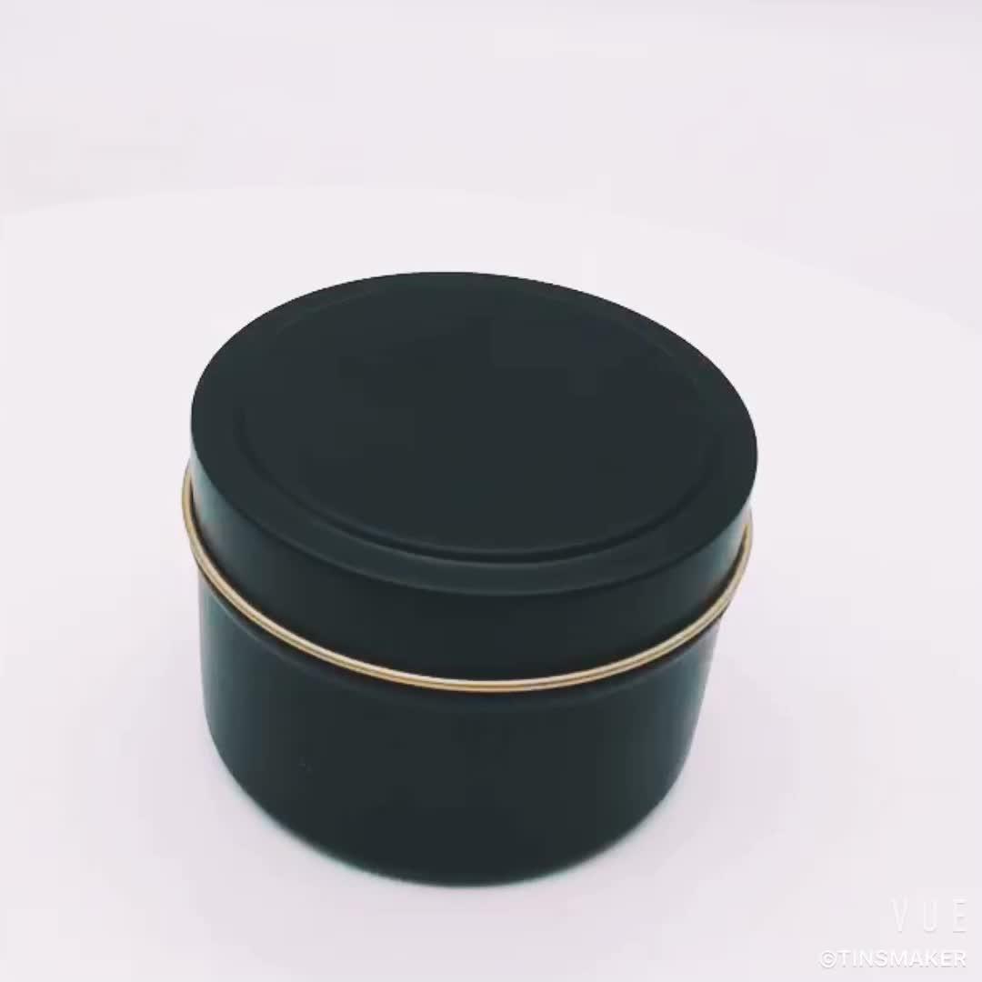 modern decorative wedding metal wholesale candle tin