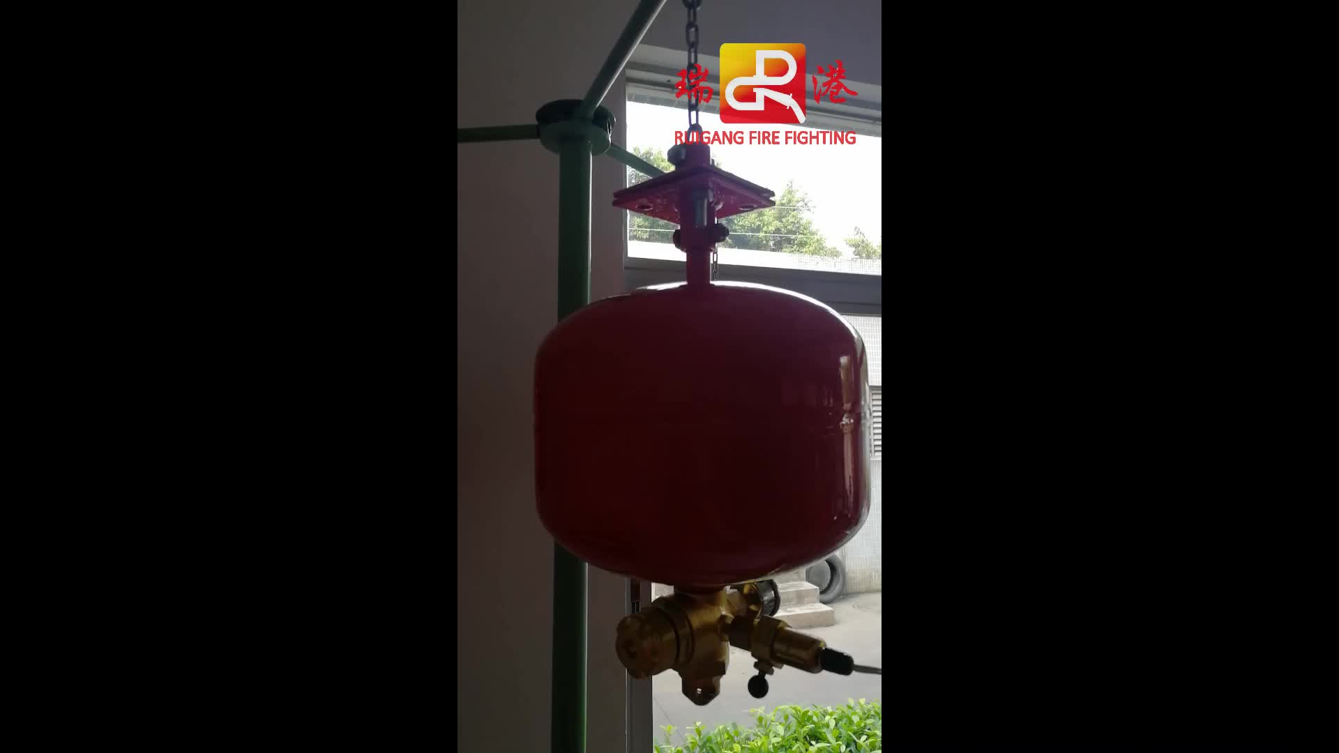 modular automatic fire extinguisher,  FM200 fire protection equipment, gas automatic fire fighting system