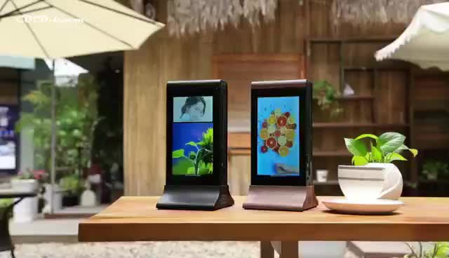 Android Quick Charging Restaurant Table Advertising Mah Buy - Restaurant table advertising