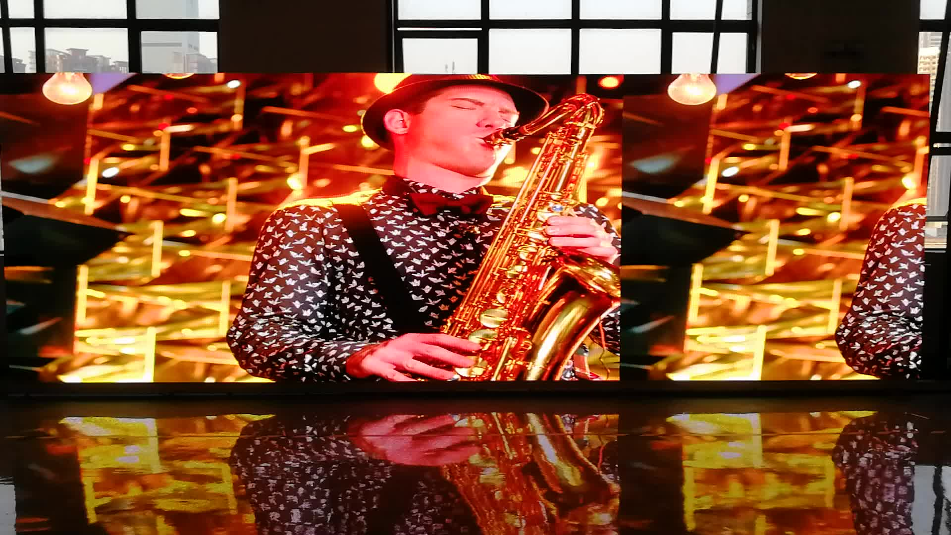P3.91 LED Video Wall/ LED Stage Background Display Screen