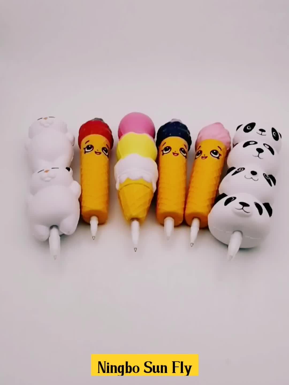 Promotie Leuke Stress Speelgoed Trage Rebound Balpen Leuke Pen