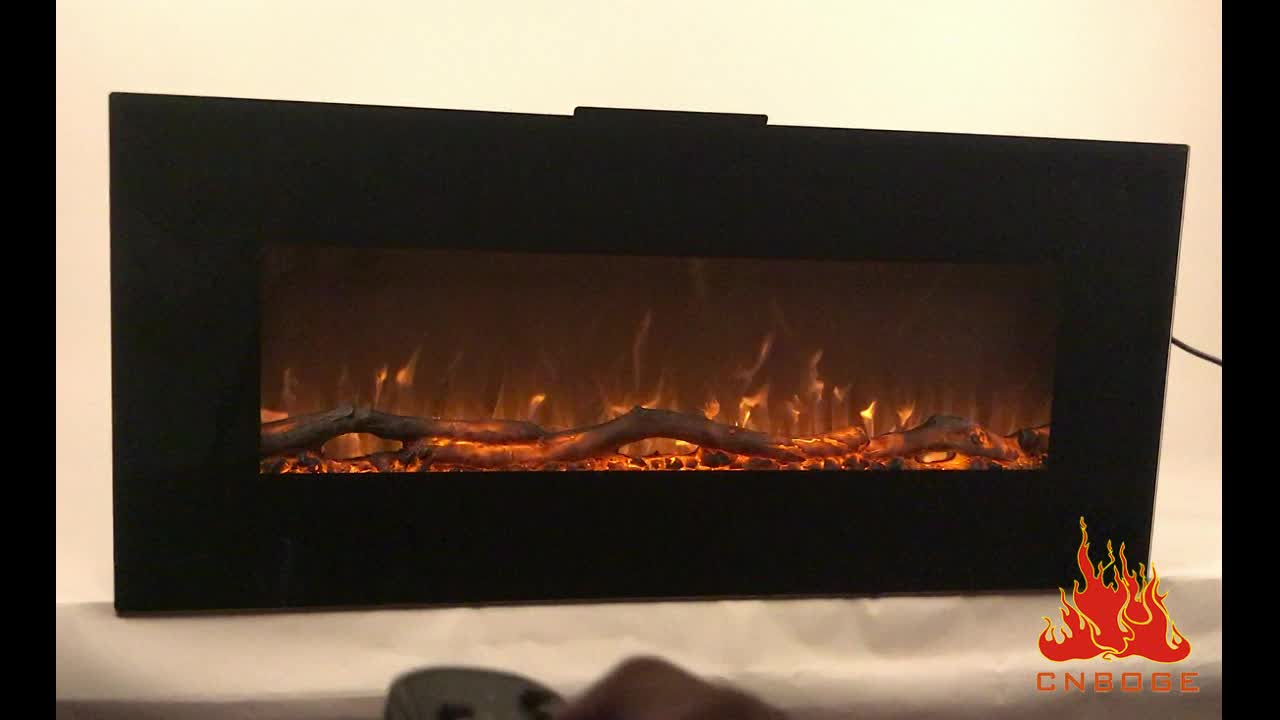 """50"""" wall mounted and freestanding electric fireplace"""