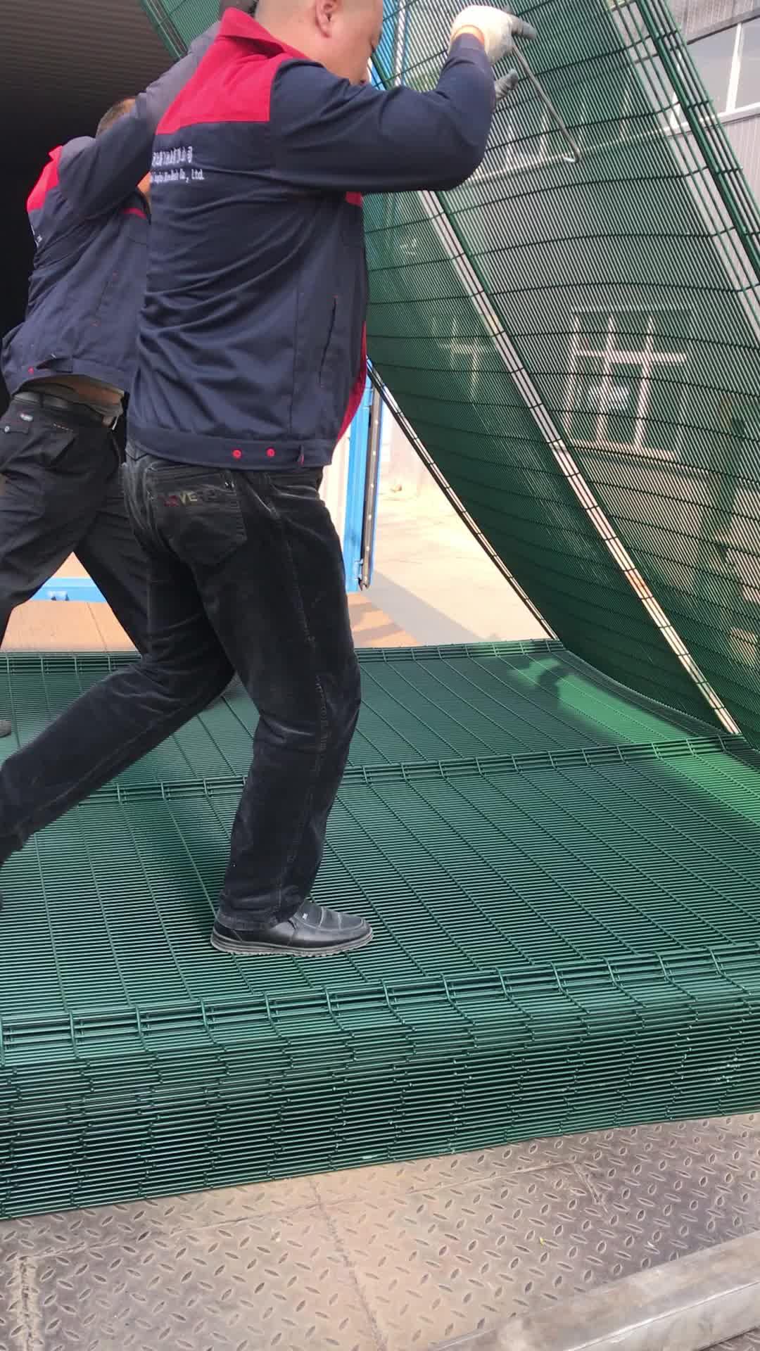 Новый дизайн ПВХ покрытием сетки Guardian защитный барьер ограждения