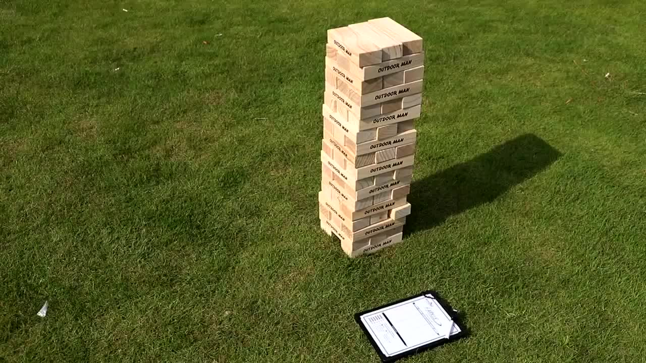 2018 new block toys,popular wood building block game,high quality stacking block game