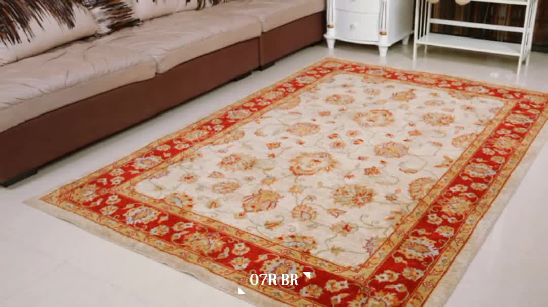 Traditional Chinese Wool Floor Rug