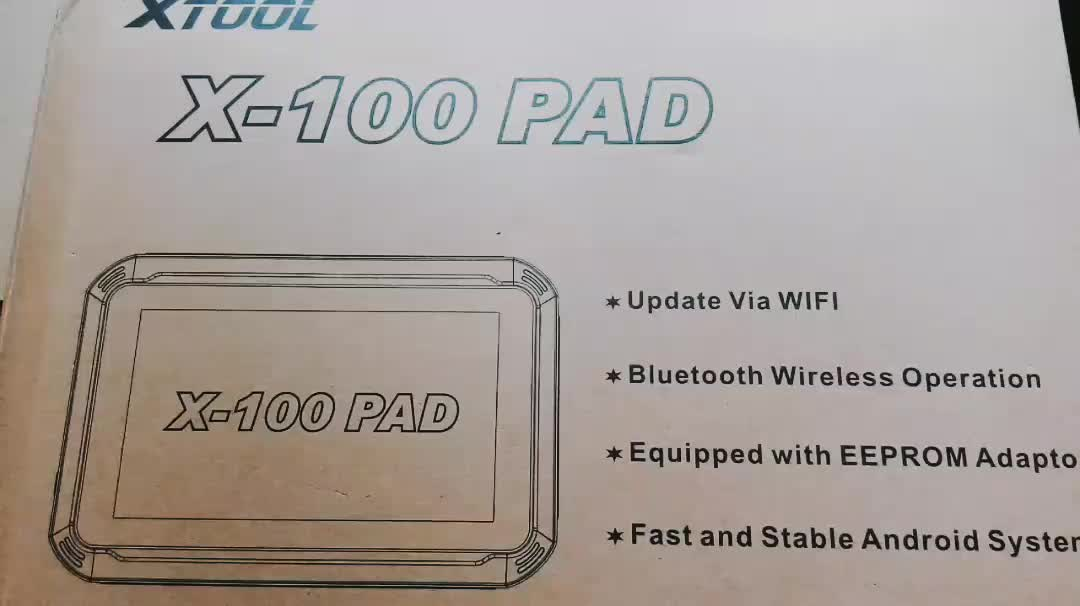 XTOOL X-100 PAD 태블릿 키 프로그래머 와 EEPROM 어댑터 Support Special Functions