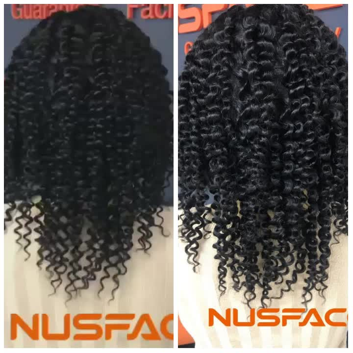 full lace wigs woman raw virgin cuticle aligned hair  KC kinky curly for black  1B# long Lace Closure indian human hair blonde c
