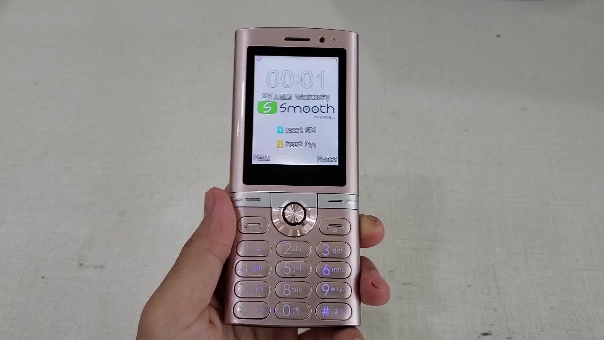 """Boa aparência M278 2.4 """"MTK chipset de alta qualidade do telefone móvel"""