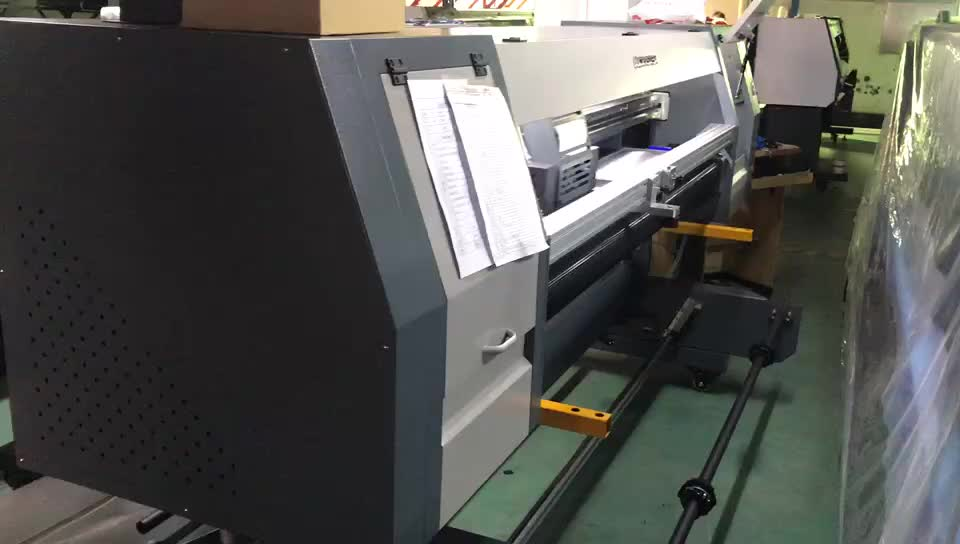 1.8m roll and flatbed uv hybrid uv printer with dx5 printhead XP600 printhead CMYKW 5color uv printer