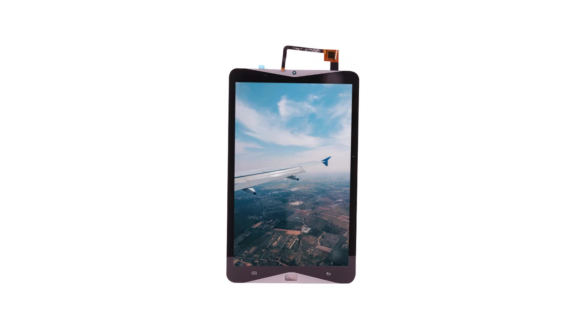 Factory Direct 3.5 Inch lcd 480*800 IPS color Display with capacitive touch screen