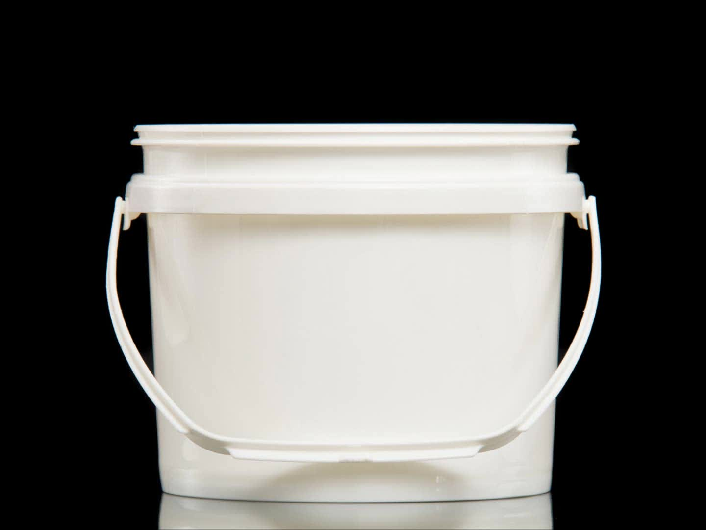3 to 3.785l injection molding leak free pp pail