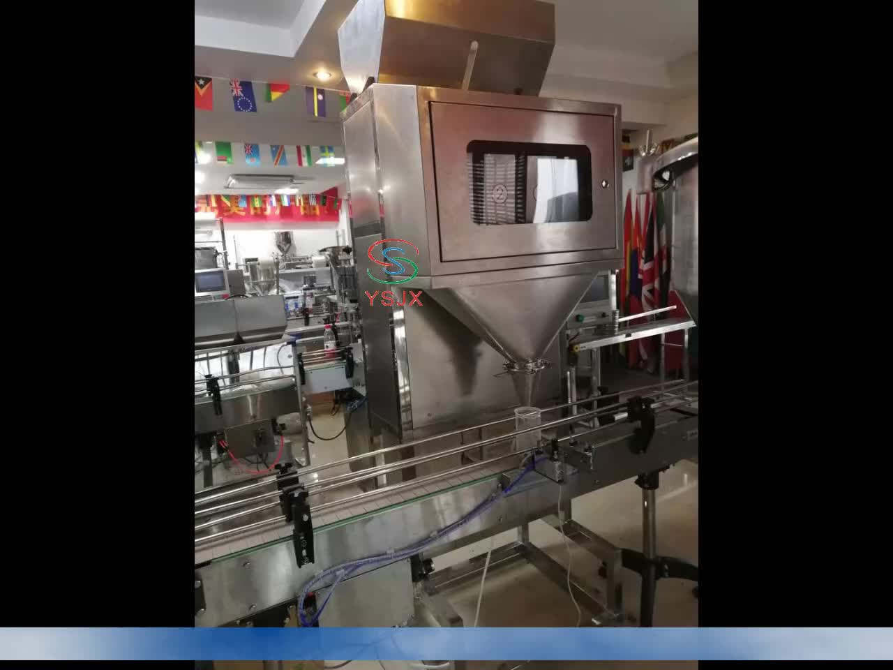 2019 Newest Automatic Double weighing rice/grain filling and packing Machine with best price for factory