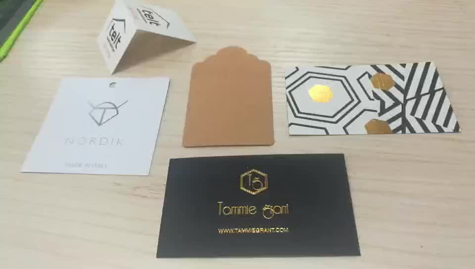 Personalizzato stampa tipografica rose gold foil stamp business cards carta sventato in rilievo