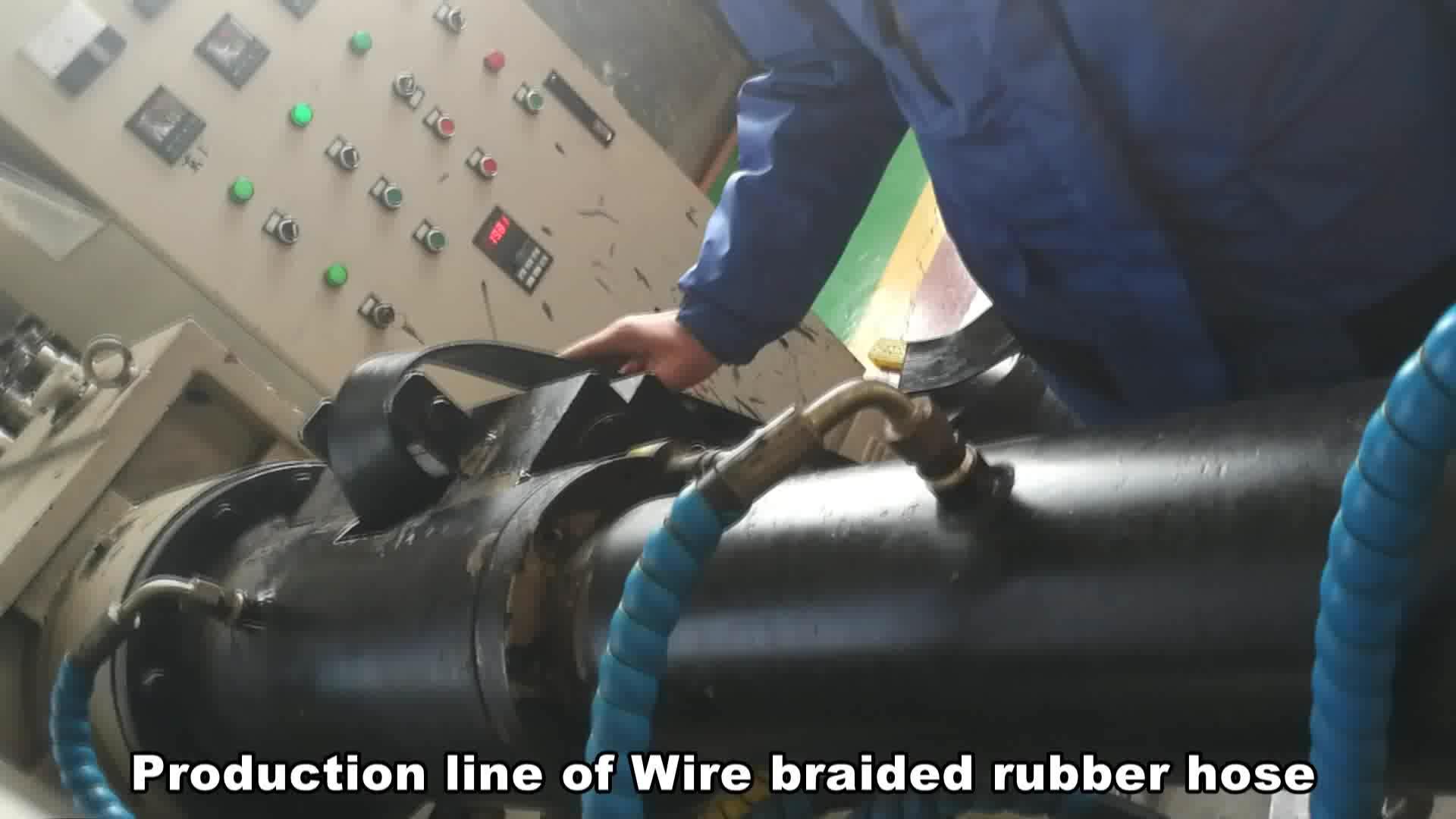 Factory supply flexibele rubberen slang voor brandstof lijn