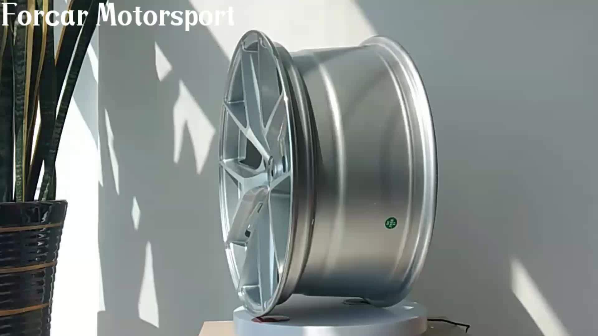 6061 T6 铝锻造定制合金轮毂
