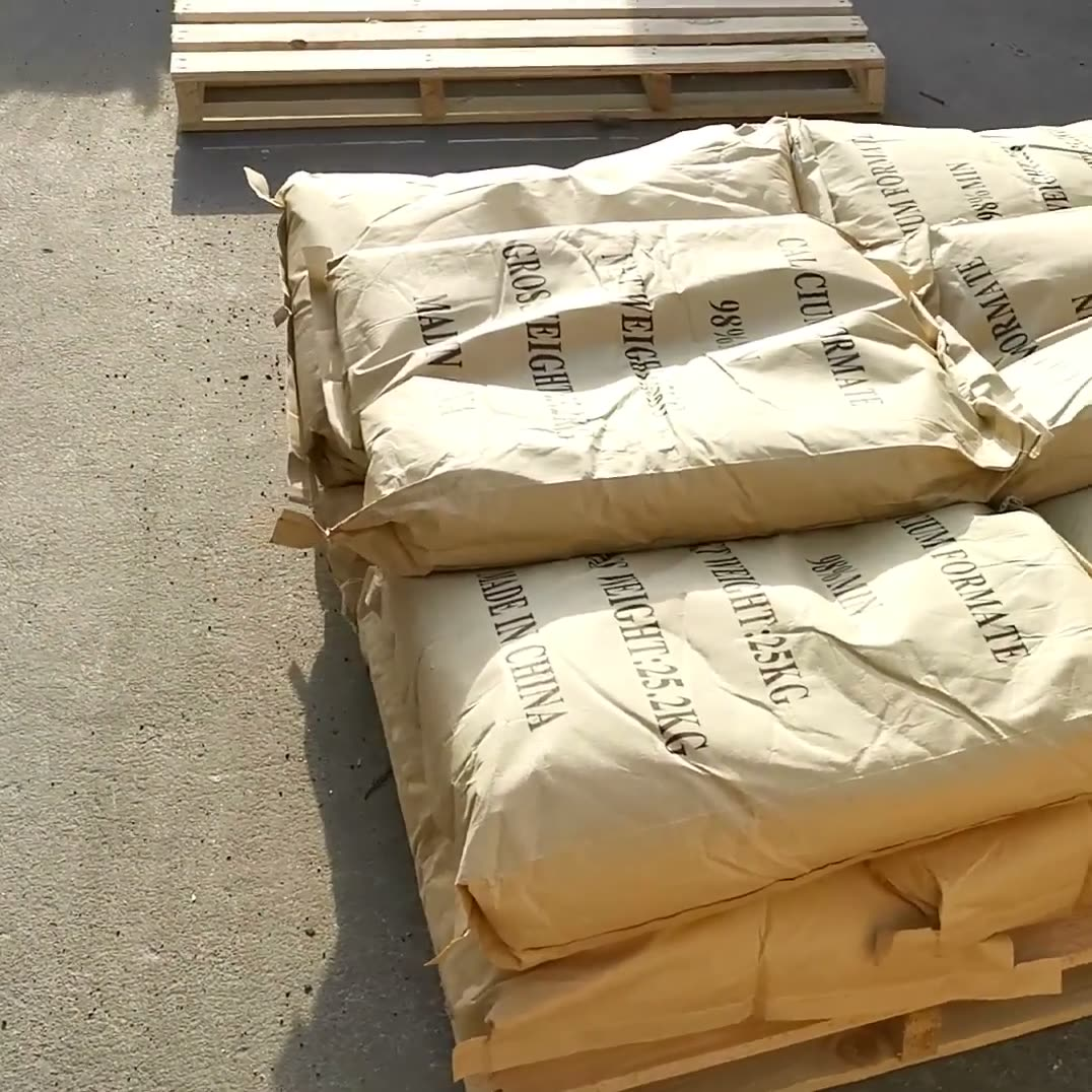 HS Code 2915120000 Of Industrial Salt animal Feed Calcium formate 98%