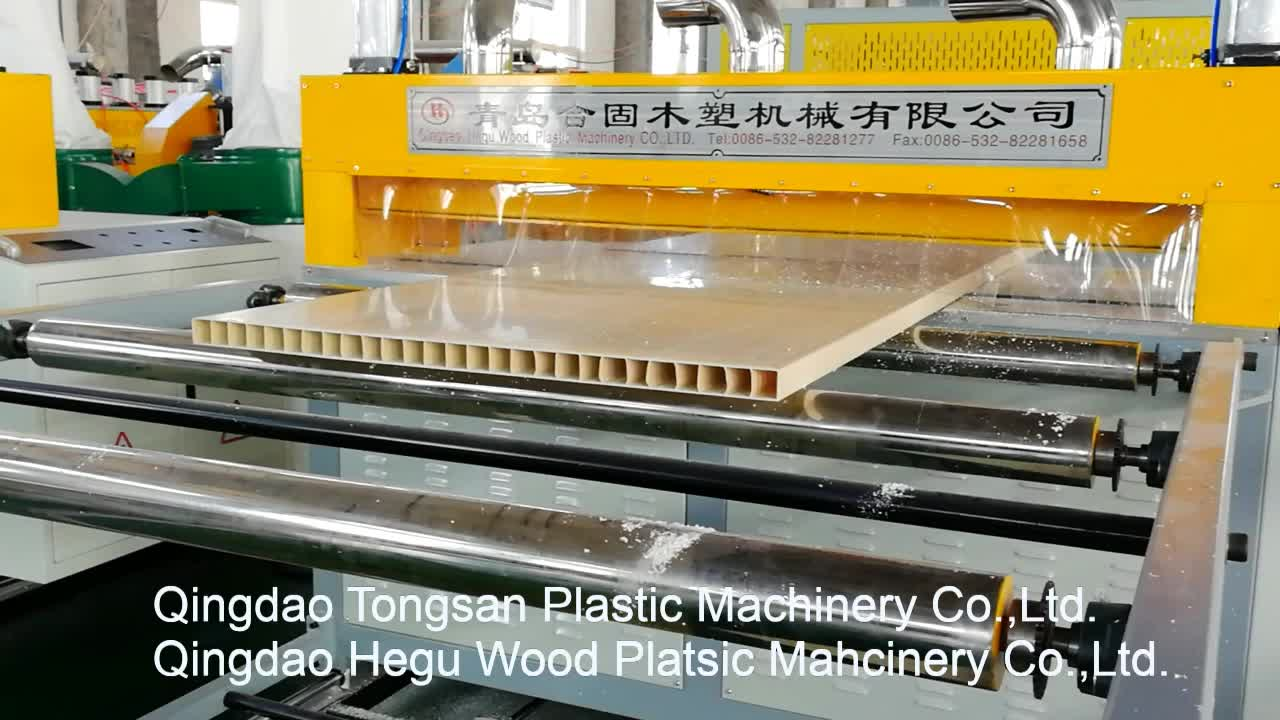 Turnkey project for PVC WPC hollow board door panel   making machine price
