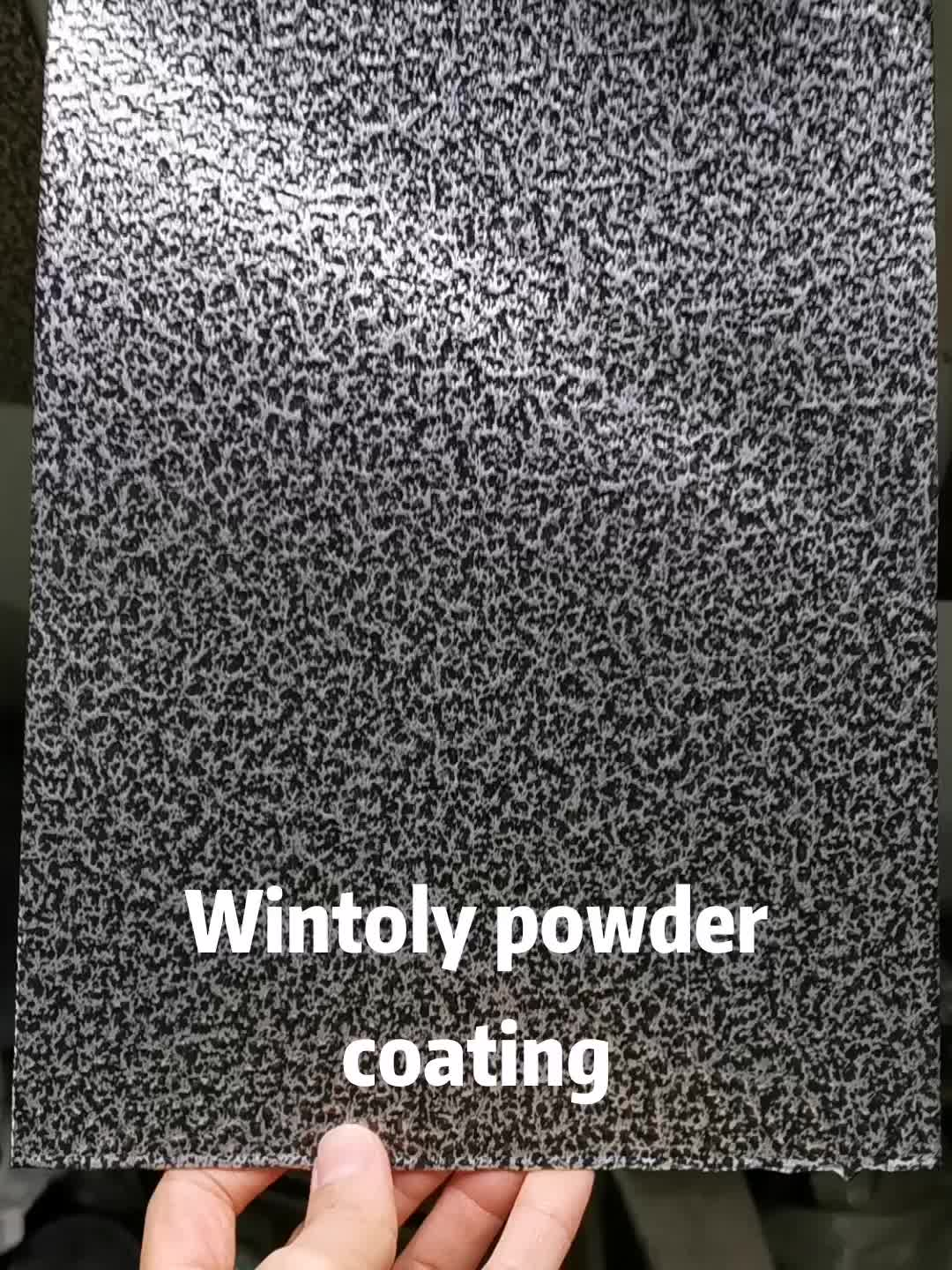 Wintoly good quality real metal bonding antique powder paint