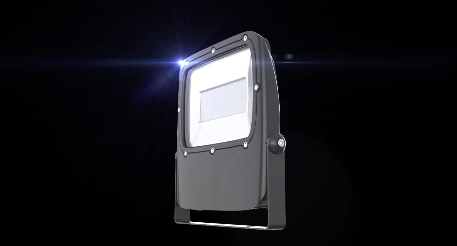 Высокая мощность алюминиевый водонепроницаемый ip66 промышленный пустой 120 Вт Светодиодный прожектор светильник корпус
