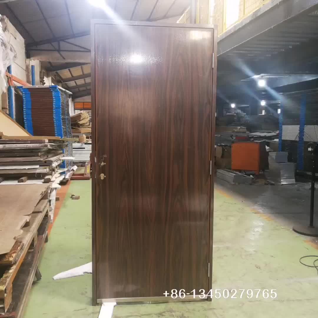 Portable Steel Door With Split Frame