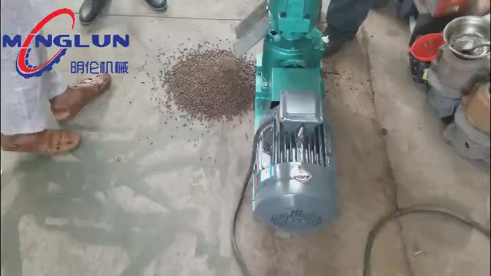 150-200kg per hour Animal Feed Pellet Machine Price For Sale
