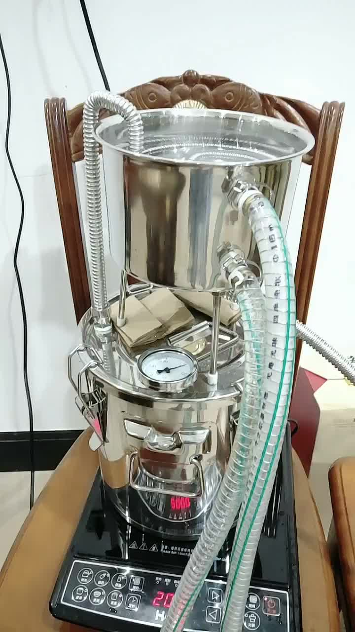 작은 증류 장비 홈 스테인레스 스틸 알코올 증류기