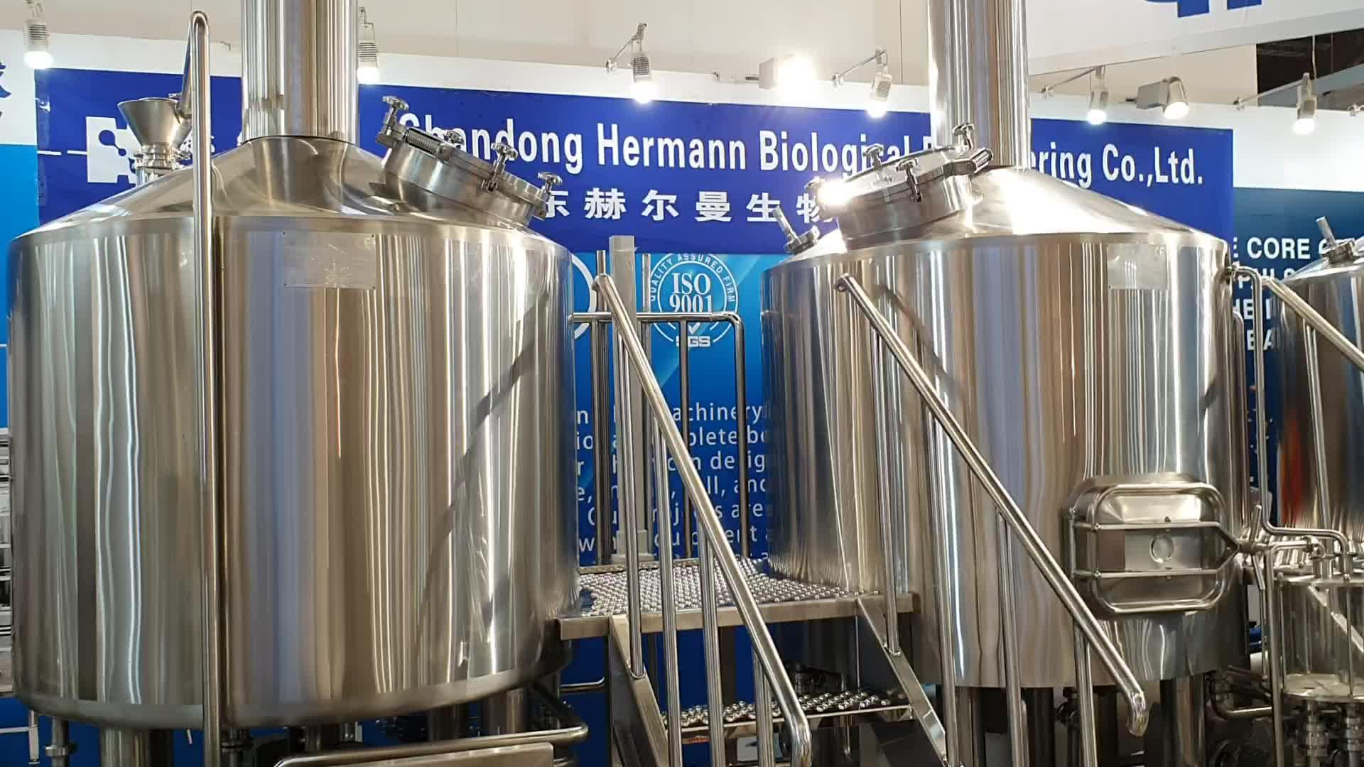 स्टेनलेस स्टील शराब की भठ्ठी उपकरण बीयर पक टैंक सेवित 200L500L1000L माइक्रो शराब की भठ्ठी के लिए बीयर उपकरण