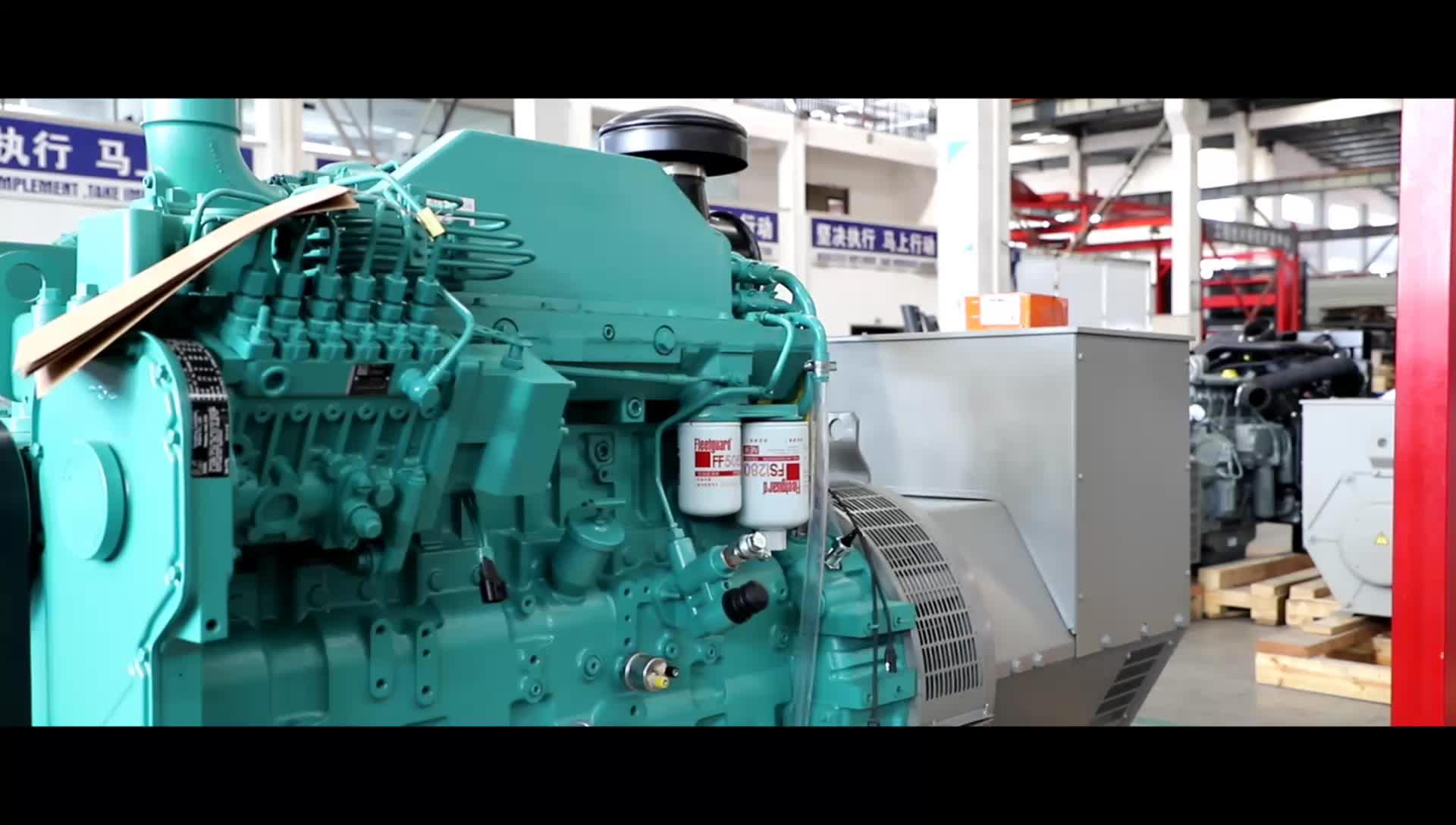 Precisione 100kva 200kva 2000kva Generatore Diesel Prezzo
